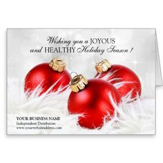 Personalized Business Christmas Cards