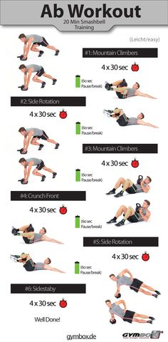 Best Kettlebell Ab Workouts & Exercises for Flat Stomach http://abmachinesguide.com/kettlebell-ab-workout-strong-core-fat-burning/ #abs #workout