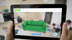 Place IKEA furniture in your home with augmented reality. This app allows you to browse the Ikea catalogue and see how the furniture will look in your own home. Virtual Reality, Ikea App, Branding, Ikea 2014, Mundo Do Marketing, Catalogue Ikea, Digital Retail, Home, Handmade Home Decor