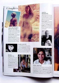 Alicia Malesani in Harper's Bazaar