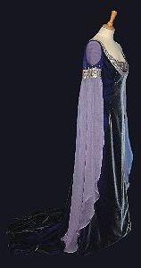 Rossetti:Pre-Raphaelite, Celtic and Medieval style Alternative Wedding Dresses