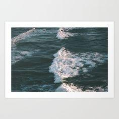 waves, ocean, blue, beach