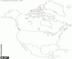 Mapa fsico de Amrica  Geografa  Pinterest  Geografa Mapas