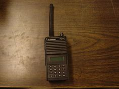 """Bendix King BK Radio Inc. DPHX5102X P25 Digital Portable Two-Way Radio. """"We have no way to test this radio. It is being sold as untested, in used condition. There are no batteries included. There is a small scratch on the display screen."""