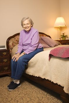 SENIOR Solutions Home Care can be a help not only to seniors living on their own but also to caregivers who need a break away to run errands or do other things while knowing their loved one is being cared for. Senior Solutions, Assisted Living Facility, Caucasian Woman, Aging Parents, Aging In Place, Long Term Care, Elderly Care, Senior Living, Caregiver