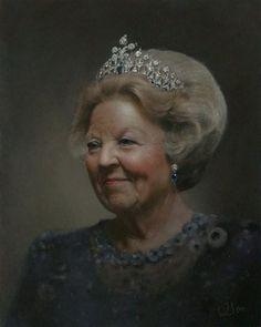 Queen Beatrix by Judith Steenkamer Beeld voor Beatrix