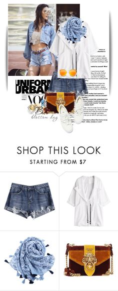 """""""Untitled #1486"""" by maja-k ❤ liked on Polyvore featuring Prada"""