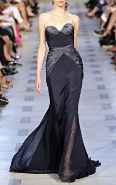 Zac Posen Midnight S/S 2012