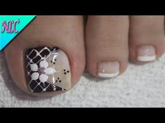 pedicure - Nail Art - Make-Up Toe Nail Color, Toe Nail Art, Toe Nails, Nail Colors, Bridal Nails Designs, Toe Nail Designs, Pedicure Nail Art, Manicure, Nail Arts