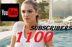 kit2000: give you 1100 youtube SUBSCRIBERS to any youtube channel, within 5 days for $5, on fiverr.com