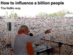 This is a blow by blow account of how Narendra Modi used new age marketing framework, Customer Value Maximization to win Indian Parliamentary Elections 2014. http://www.slideshare.net/xerago/namo-victory-formula
