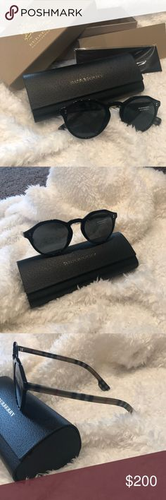 43a76a20ae 🌿Women's Burberry Sunglasses Women's Burberry Sunglasses Brand new, with  box and accessories Black with traditional Burberry pattern on arms  Burberry ...