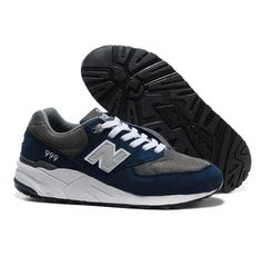 premium selection c03f9 17d52 New Balance NB 999 Seal Grey White deepBlue For Men shoes Casual shoes Shop  Nb Shoes