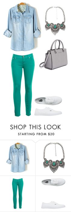 """""""Untitled #312"""" by bintoman ❤ liked on Polyvore featuring BKE, Free People, Vans and MICHAEL Michael Kors"""