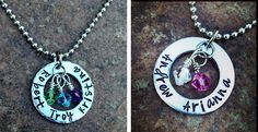 Momma's & Nana's favorite Personalized necklace. Great matching Best Friends or Sister Necklace ! | Jane