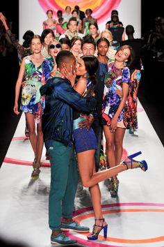 Défilé Desigual, prêt-à-porter printemps-été 2014, New York. #NYFW #fashion