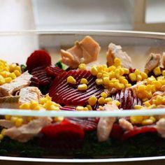 Zapekaná cestovina s cviklou a špenátom Vegetables, Vegetable Recipes, Veggies