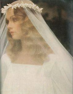 Jean Shrimpton - Vogue UK by David Bailey, November 1973