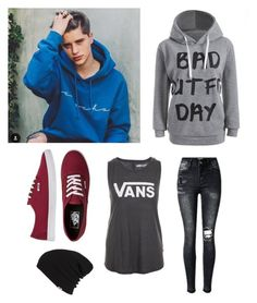 """Rdv avec Ivan Martinez"" by anneso88 ❤ liked on Polyvore featuring Vans"