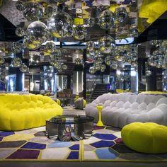 Burbujas de diseño para decorar el hogar. Vida y estilo - Terra Espagna. The Bubble sofa - Sacha Lakic Design 2014 Roche Bobois. www.lakic.com