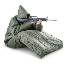 HQ ISSUE Tactical Sleeping Bag with Arms