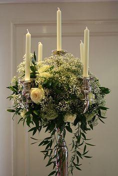 Wedding Candelabra Flowers
