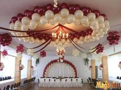 8 Amazing Ways to Include Balloons Ballon Decorations, Quince Decorations, Quinceanera Decorations, Birthday Party Decorations, Wedding Decorations, Birthday Parties, Wedding Ideas, Balloon Ceiling, Balloon Columns