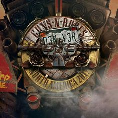 Guns N' Roses The Dome at America's Center July 2017 Guns N Roses, Concert Flyer, Concert Posters, Music Posters, Aerosmith, Rock N Roll, Rock Vintage, Vintage Music, Band On The Run