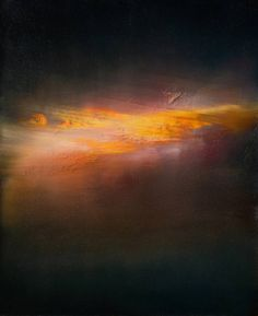 "Saatchi Art Artist Maurice Sapiro; Painting, ""They Don't Make Sunsets Like That Anymore"" #art"
