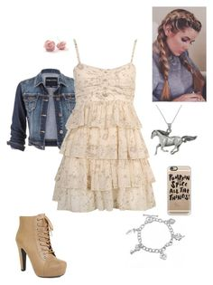 """Country Look"" by briony-jae ❤ liked on Polyvore featuring Bling Jewelry, maurices, Forever 21, Carolina Glamour Collection, Casetify and country"