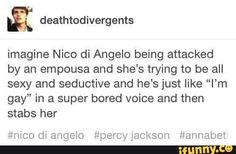 pjo, hoo, percyjackson, nicodiangelo, tumblr