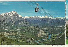 ( Banff Townsite  Sulphur Mountains Canada
