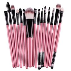 Makeup Brushes, Franterd 15 pcs/Sets Eye Shadow Foundation Eyebrow Lip Brush Tool * Continue to the product at the image link. (This is an affiliate link) #MakeupBrushesTools