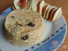 Rychlý jablečný koláček | NejRecept.cz Nutella, Muffin, Food And Drink, Yummy Food, Snacks, Cookies, Mugs, Breakfast, Healthy
