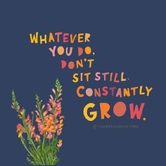 Rest, yes. But don't stagnate. Whatever you do, constantly grow. 💕 Staying interested and showing up is the essence of life. 🙌🏽 As the good (and her awesome shirts say) the Not Quitting is the Winning. Happy Quotes, Positive Quotes, Motivational Quotes, Inspirational Quotes, The Words, Cool Words, Pretty Words, Beautiful Words, Growing Quotes