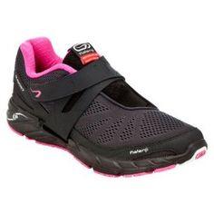 Chaussures running femme Eliofeet gris rose - Decathlon