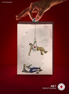 Clever Red Cross Ads