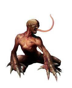 Licker Resident evil games