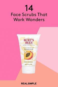 14 Face Scrubs That Work Wonders According to Thousands of Beauty Fanatics Best Exfoliators, Homemade Face Moisturizer, Face Scrub Homemade, Homemade Facials, Natural Face, Natural Skin Care, Best Exfoliating Face Scrub, Exfoliate Face Products