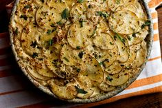 Scalloped Keuka Gold Potatoes. Click the link to get the complete recipe from NYTCooking.com. (Photo: Andrew Scrivani for The New York Times)