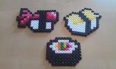 Sushi perler beads  by RavenTezea