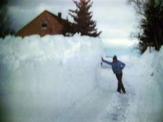 Who can forget the blizzard of 1978?  We too had 10-foot drifts in our driveway.  Nearly lost our little dog in the snow.