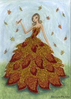 illustrations by bella pilar images | Bella Pilar › Tis the Season for Fabulous Fall