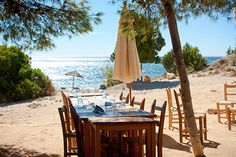 Ses Boques, Ibiza. Secluded fish restaurant. We ate here and loved it. A real treat and find.x