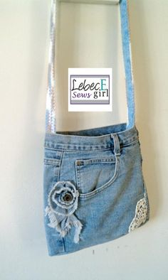 Fab idea for all those old jeans I have kept!!!!