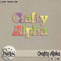 Crafty Alpha #susdesigns