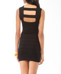 Recorte Volver vestido vendaje | Forever21 - 2000049098