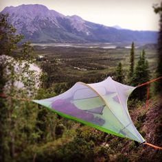 Pitch up and enjoy the Alaskan landscape. Where will you take your #tentsile this summer? Big thanks to John Gaedeke Photography and Iniakuk Lake Wilderness Lodge!