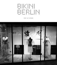 I'm happy to announce that we've teamed up with POP UP Fashion Berlin, therefore my collection is currently available at Bikini Berlin. Stop by when around :)