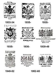Paragon*1933-1960 : Heirlooms Antiques Centre